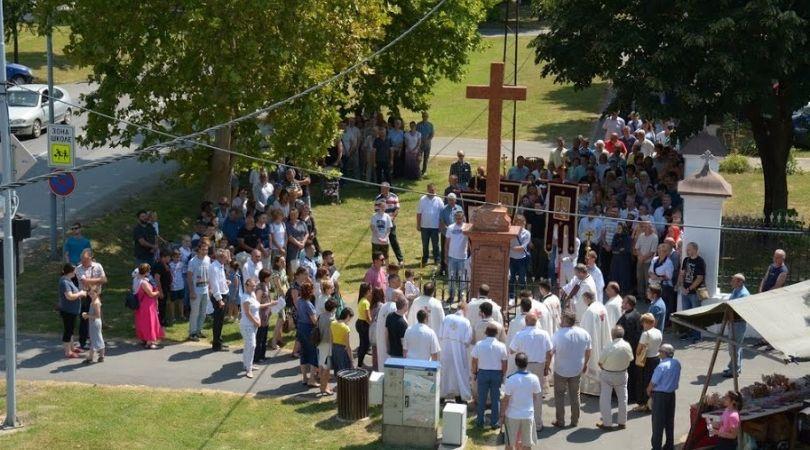 U Bačkoj Palanci proslavljena slava Svetojovanovskog hrama