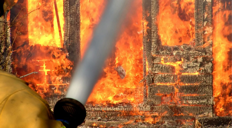 Veliki požar u Despototvu na imanju Ajduka