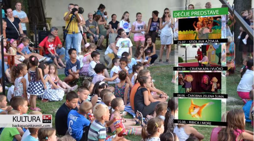 Dečje predstave pune Veljkovu baštu