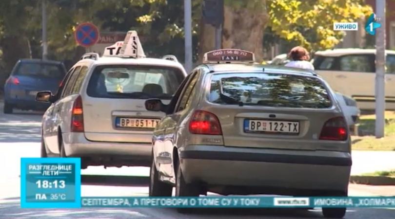 Bolje organizovan taksi prevoz u Bačkoj Palanci (VIDEO)