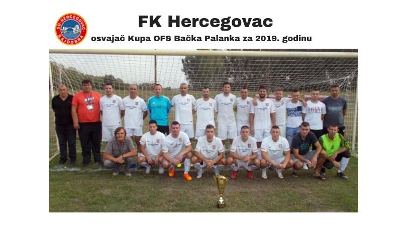 Finale Kupa OFS Bačka Palanka: Pehar u rukama Gajdobrana