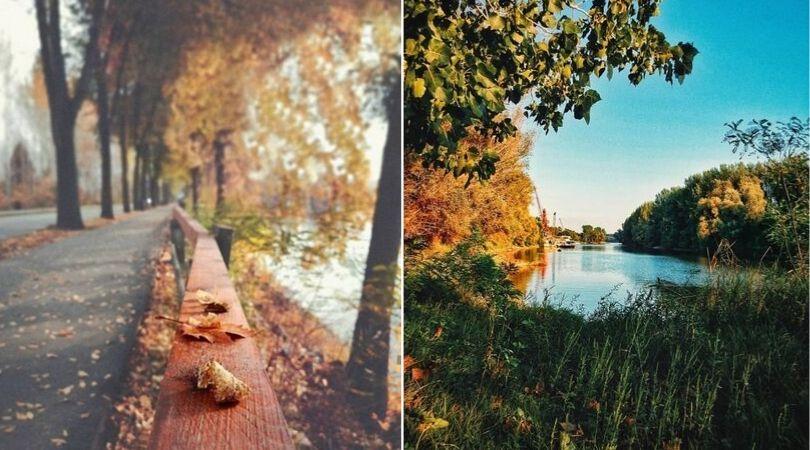 jesen vreme septembar dunav bager