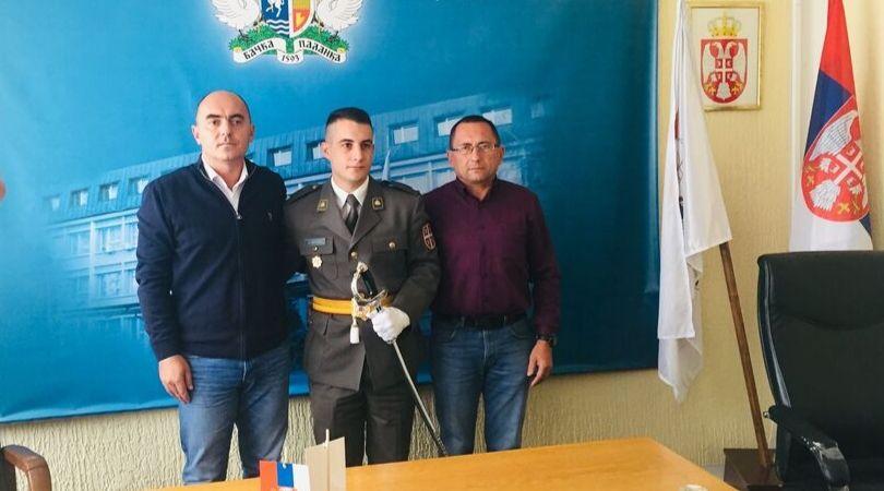 Bačkopalančanin Miloš Basarić jedan je od najboljih kadeta Vojske Srbije