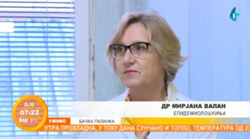 Vakcinacija protiv gripa u Bačkoj Palanci (VIDEO)
