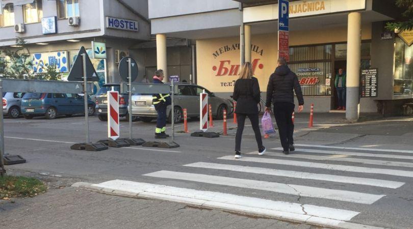 Počinju radovi u glavnoj ulici, najprometnija raskrsnica zatvorena za saobraćaj