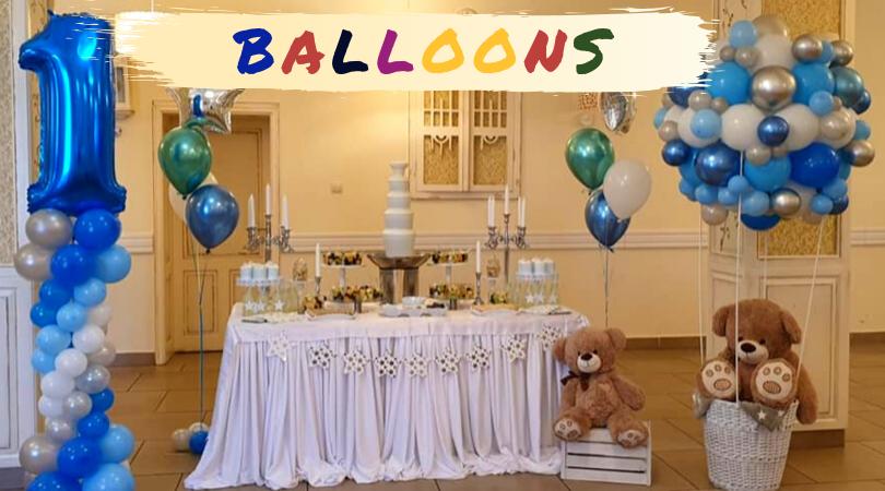 Balloons će svaku vašu proslavu učiniti ekskluzivnom i lepom