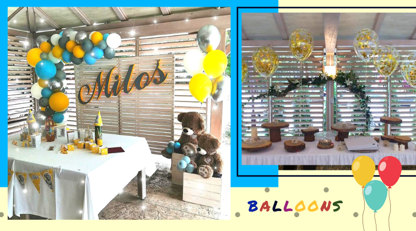 Dekoracija balonima bačka palanka balloons