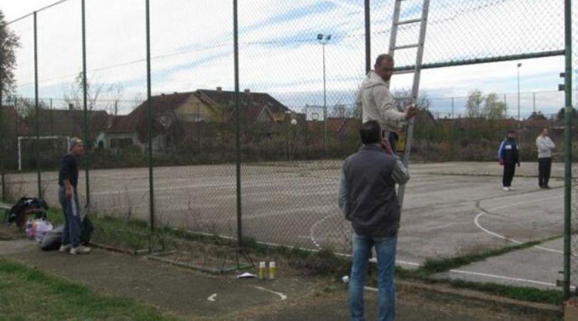 """Radnom akcijom uredili terene u bačkopalanačkoj MZ """"Centar"""""""