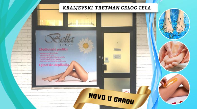 Kozmetički salon Bella brine da svaki Vaš korak bude siguran i lak