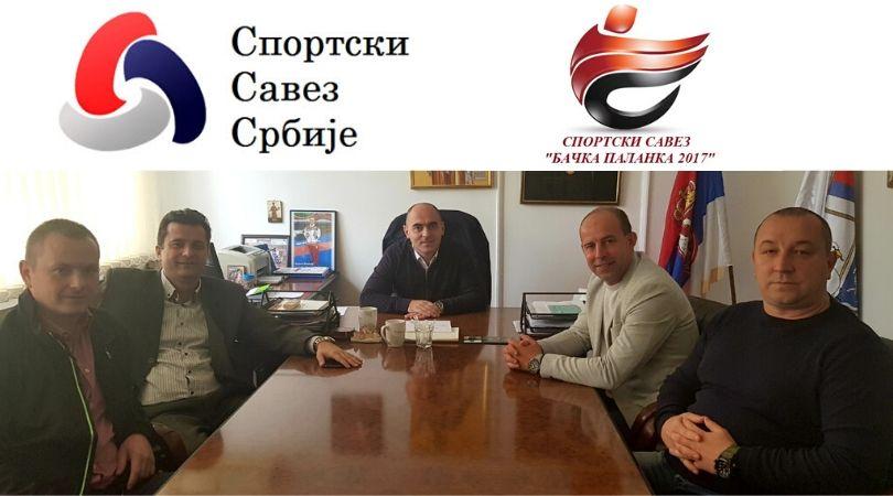 """Sportski savez """"Bačka Palanka 2017"""" redovan član Sportskog saveza Srbije"""