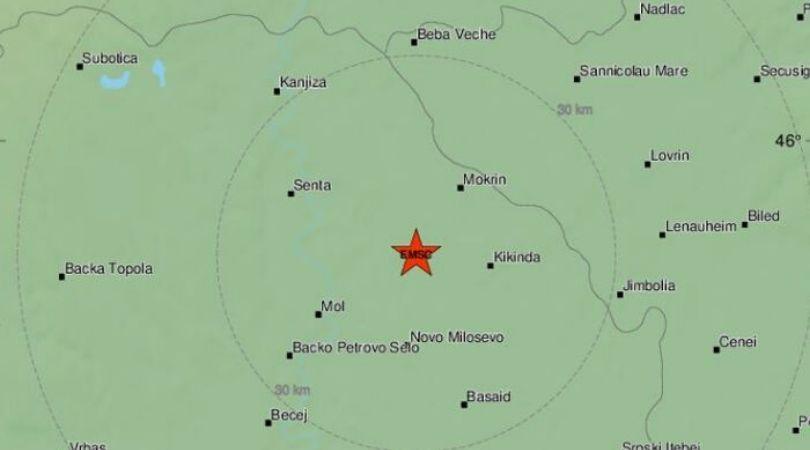 Zemljotres jačine 3,2 stepena pogodio Vojvodinu