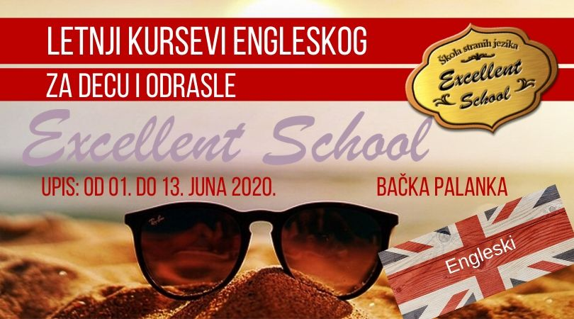 LETNJI KURSEVI ENGLESKOG – za decu i odrasle!