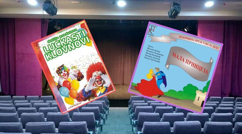 Pozorišne predstave za decu u Gradskom bioskopu