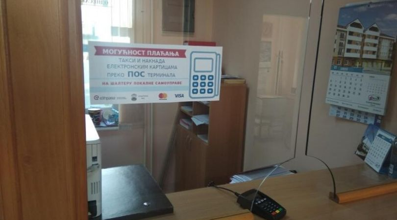Opštinska uprava Bač pustila u rad dva POS terminala