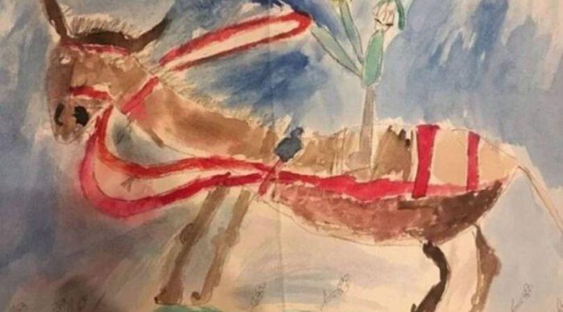 Pokušao da proda dečiji crtež za 2,3 miliona dolara, smatra da vredi i više