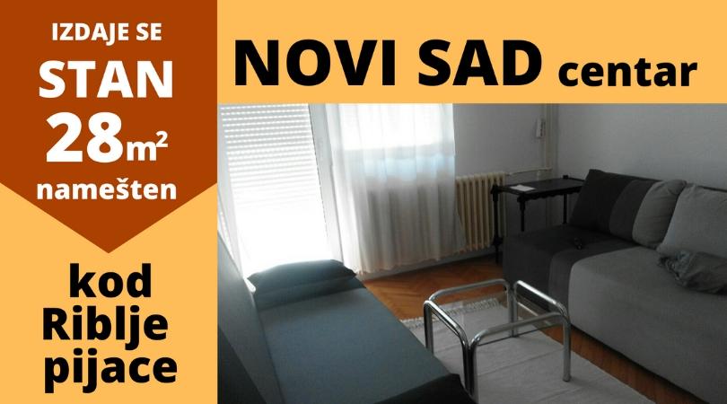 Oglasi: Izdajem stan u centru Novog Sada