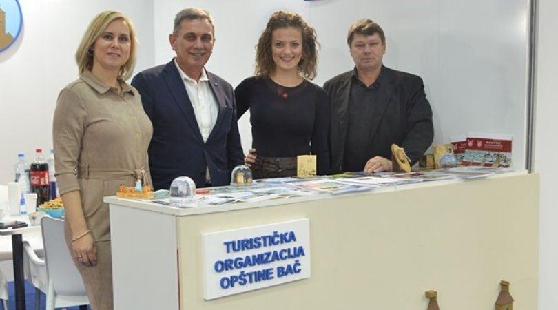 Predstavljanje Bača na Međunarodnom sajmu turizma u Beogradu