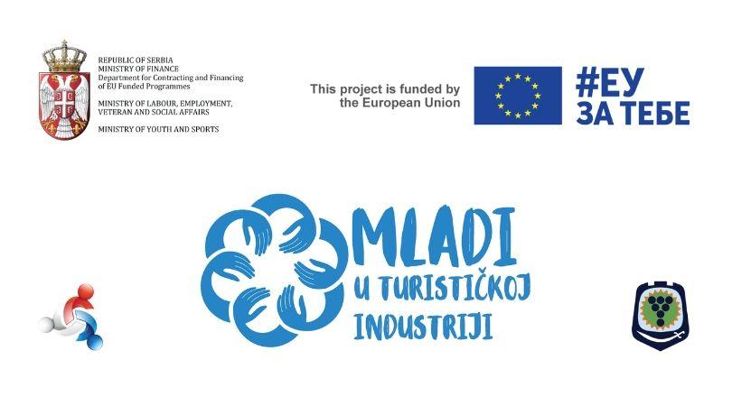 """Poziv za učešće u projektu """"Mladi u turističkoj industriji"""""""