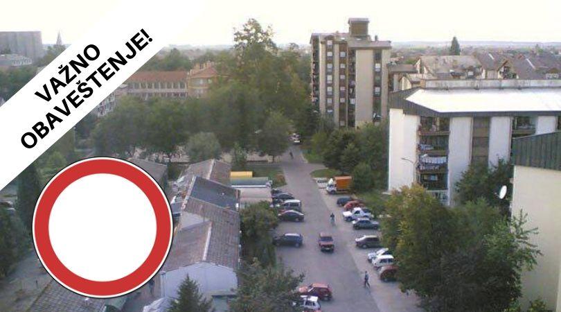 """Deo Bloka """"Partizan"""" od utorka (11.02.) blokiran za saobraćaj!"""