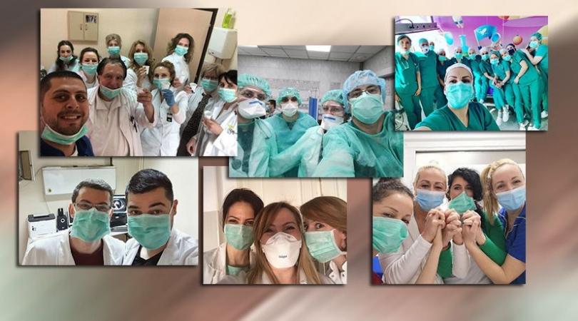 Lekari sad aplaudiraju građanima: Na podršku odgovorili snimcima iz bolnica