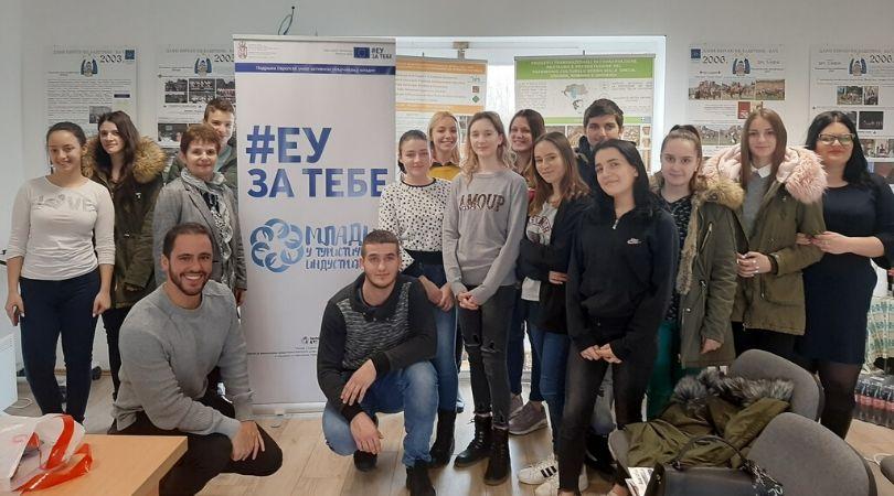 """Projekat """"Mladi u turističkoj industriji"""" u Baču"""