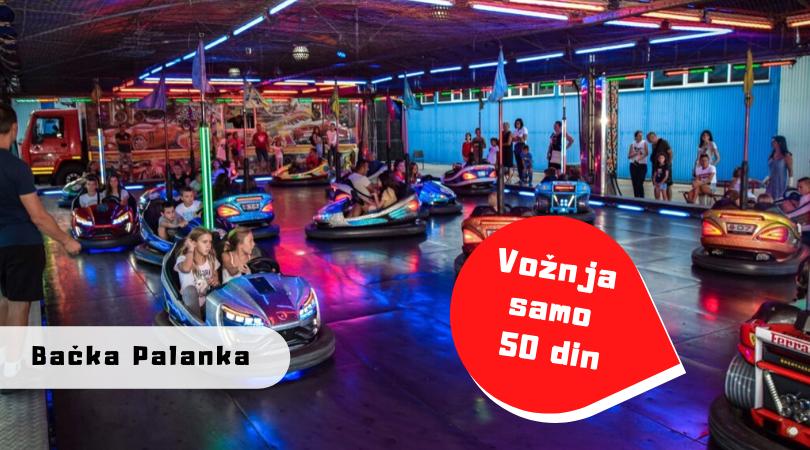 Evo šta nudi novi Luna park na Tikvari