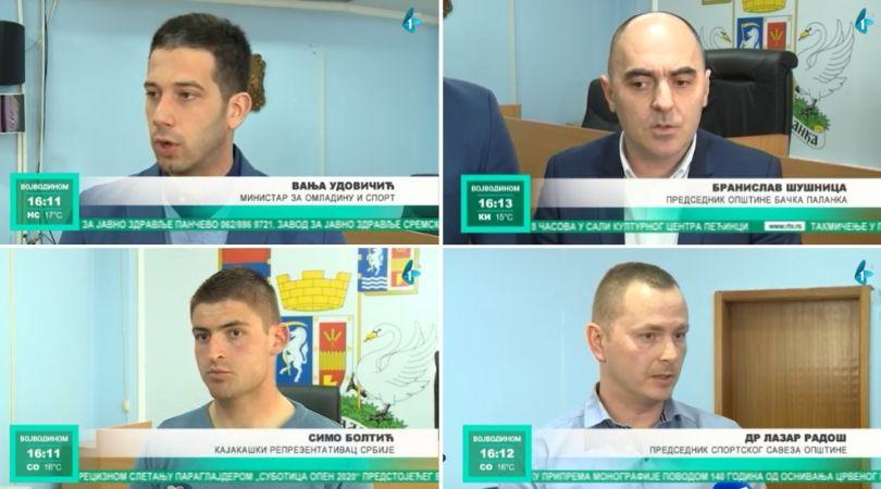 Regatni centar za sportove na vodi za pet godina u Bačkoj Palanci (VIDEO)