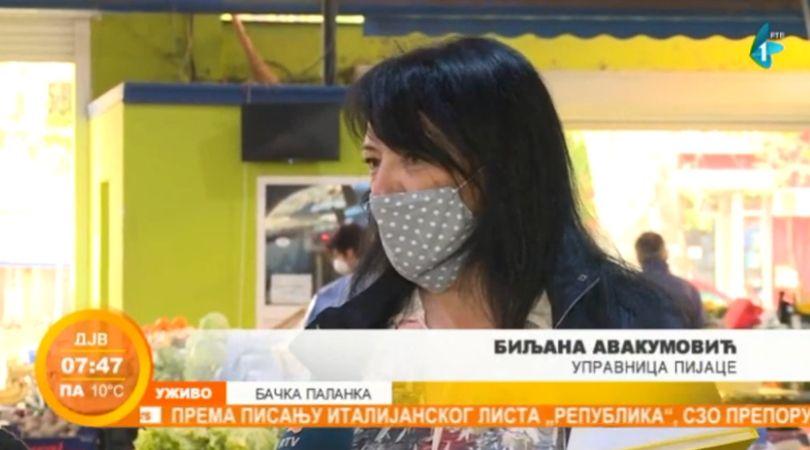 Ponovo radi pijaca u Bačkoj Palanci (VIDEO)