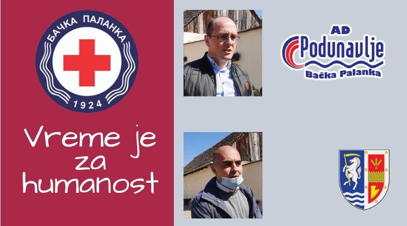 """Donacija kompanije """"AD Podunavlje"""" Crvenom krstu Bačka Palanka"""