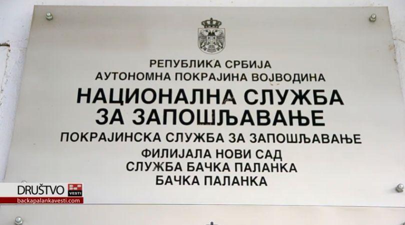 Bačka Palanka: Za mesec dana 121 lice zatražilo upis u evidenciju NSZ
