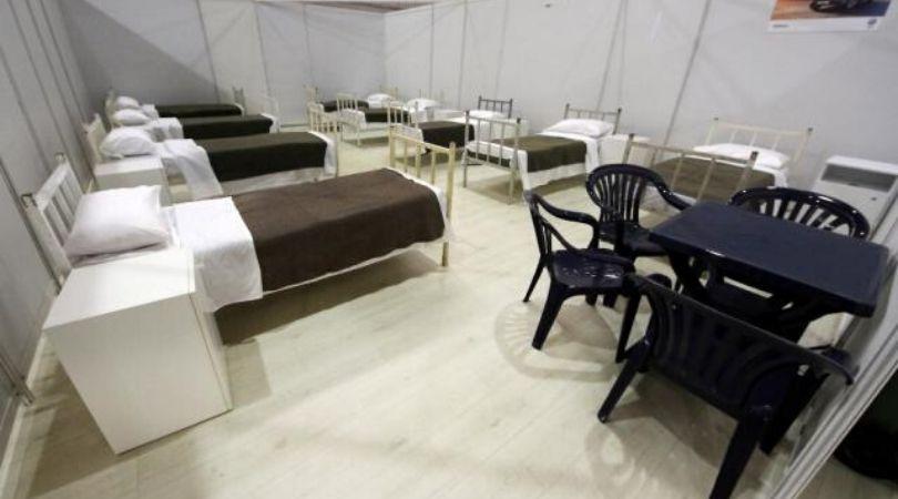 Stigli prvi pacijenti u privremenu bolnicu na Novosadskom sajmu