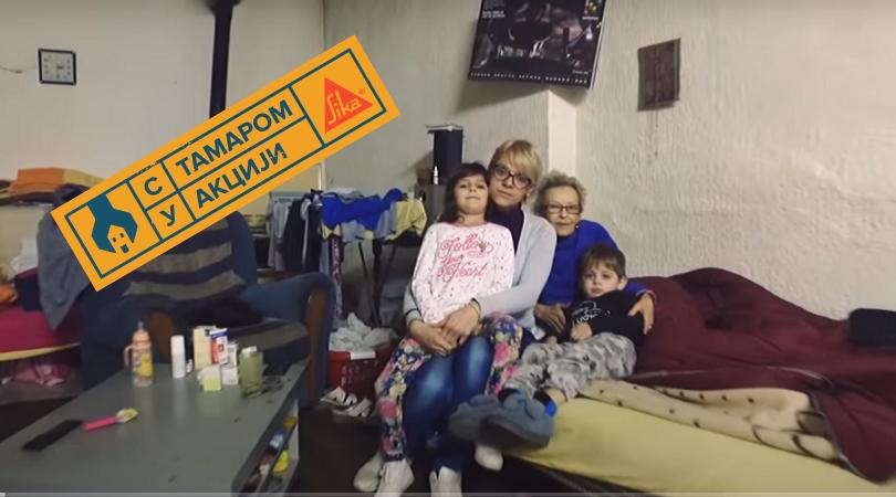 """""""S Tamarom u akciji"""" u Bačkom Petrovcu: Pomoć za porodicu Kovačević (VIDEO)"""