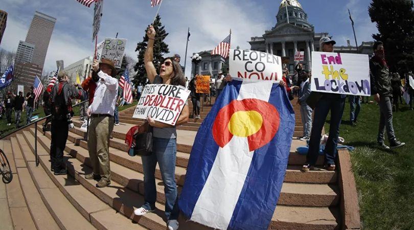 Amerika na nogama: Širom zemlje protesti protiv ostajanja kod kuće