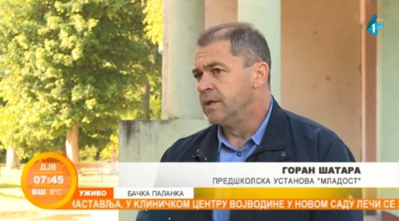 """U toku dezinfekcija predškolske ustanove """"Mladost"""" u Bačkoj Palanci (VIDEO)"""