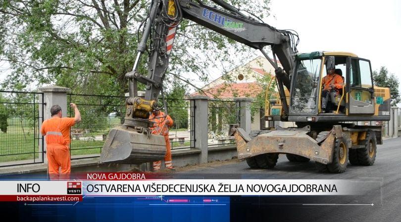 Ostvarena višedecenijska želja Novogajdobrana (VIDEO)