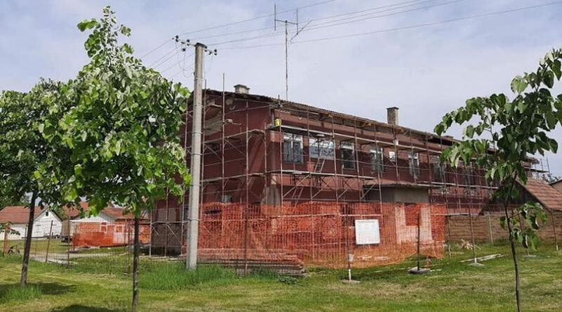 U Baču započeti radovi na rekonstrukciji zgrade za sport i fizičku kulturu