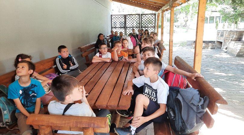 Druženje bačkopalanačkih đaka na Bagremari