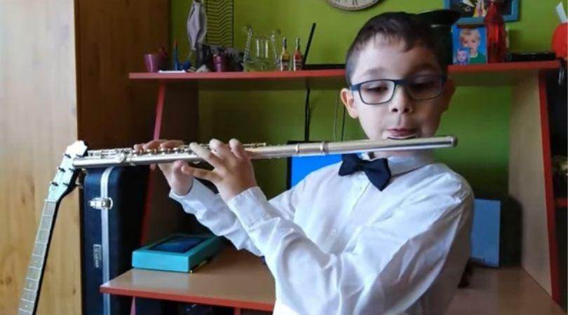 Online koncert flaute Muzičke škole u Bačkom Petrovcu (VIDEO)