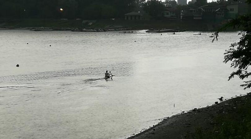 Kajakaši u Palanci ne propuštaju treninge zbog kiše