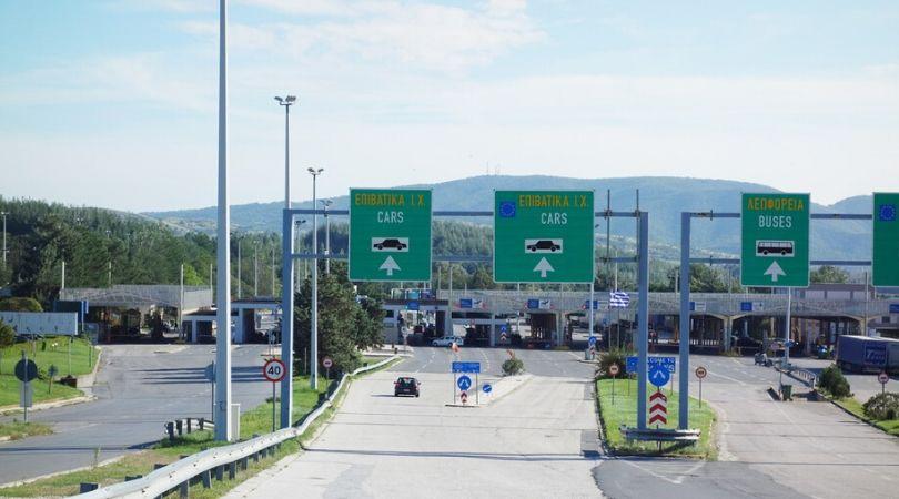 Grčka granica prazna. Prolaz samo za Grke
