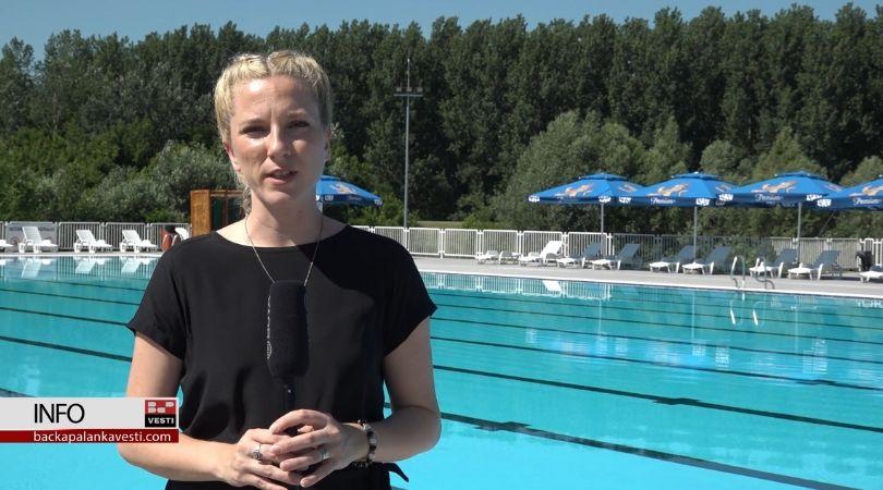 Počela sezona kupanja na bazenu u Bačkoj Palanci (VIDEO)