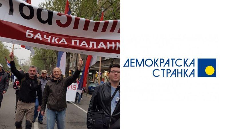 Saopštenje OO Demokratske stranke Bačka Palanka